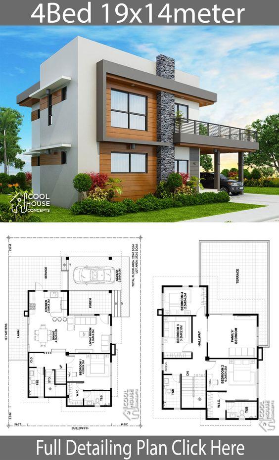 30 Planos Para Casas Gratis Para Descargar Diseños E Imágenes