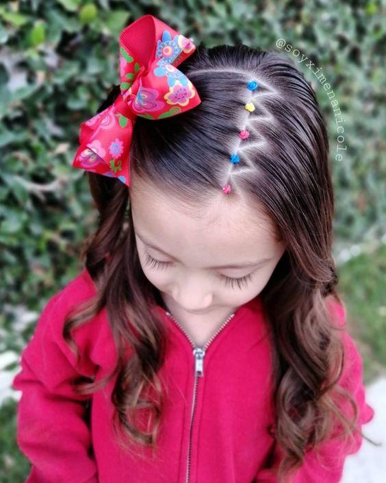 Instrucciones peinados de flamenca para niñas Fotos de cortes de pelo estilo - Peinados para niñas fáciles, bonitos y modernos de moda