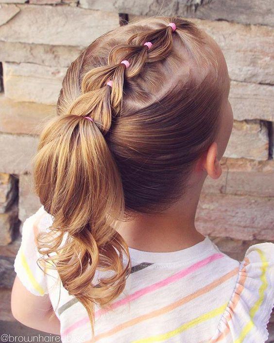 Impresionante peinados bonitos para niñas Colección de tendencias de color de pelo - Peinados para niñas fáciles, bonitos y modernos de moda