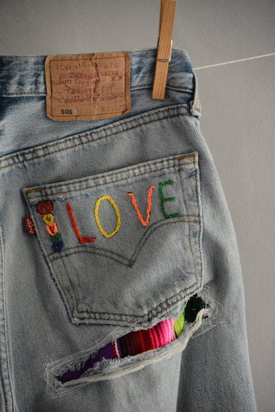 Ideas Para Decorar Los Jeans Hazlo Tu Misma Con Perlas Pintura Y Mas